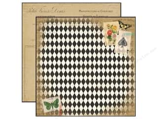 cardstock sale: Carta Bella 12 x 12 in. Paper Yesterday Papillon (25 sheets)