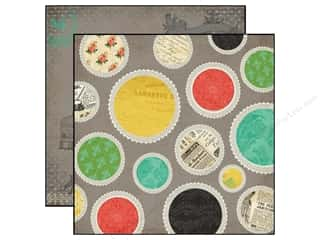 Paper Doilies Black: Carta Bella 12 x 12 in. Paper Yesterday Doilies (25 sheets)