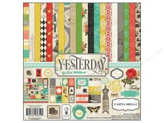 Captions Weekly Specials: Carta Bella 12 x 12 in. Paper Yesterday Collection Kit