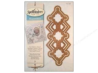 Metal Metal Strips: Spellbinders Shapeabilities Die Victorian Border Strip Anne