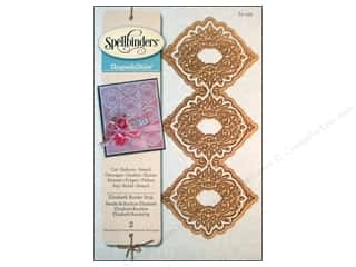 Metal Metal Strips: Spellbinders Shapeabilities Die Victorian Border Strip Elizabeth