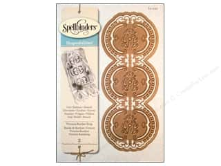 Metal Metal Strips: Spellbinders Shapeabilities Die Victorian Border Strip Victoria