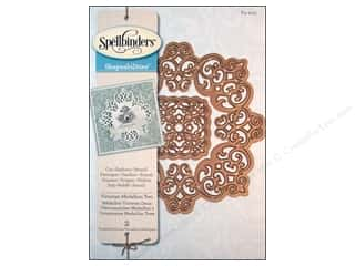 Spellbinders Shapeabilities Die Victorian Medallion Two