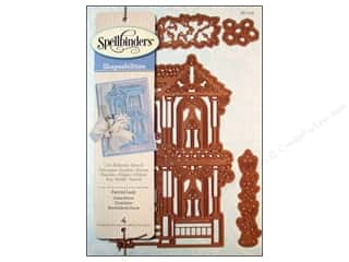 Embossing Aids $0 - $6: Spellbinders Shapeabilities Die Victorian Painted Lady