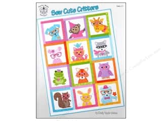 Taylor Made Designs: Taylor Made Sew Cute Critters Book
