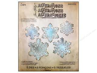 Dies Hot: Sizzix Dies Tim Holtz Thinlits Set Paper Snowflakes