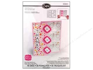 New Dies: Sizzix Dies Stephanie Barnard Framlits Flip Its Card Playful