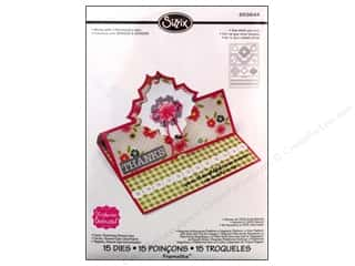 Charms New: Sizzix Dies Stephanie Barnard Framlits Stand Ups Card Charming