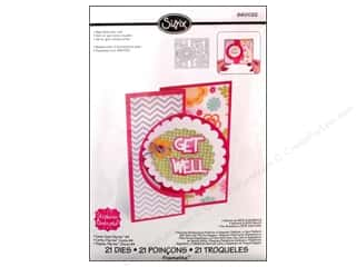 New Dies: Sizzix Dies Stephanie Barnard Framlits Flip Its Card Circle 4