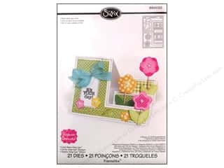 New Sizzix Die: Sizzix Dies Stephanie Barnard Framlits Step Ups Card Basic