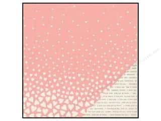 Valentine's Day Fall Favorites: Crate Paper 12 x 12 in. Paper Kiss Kiss Falling For You (25 pieces)