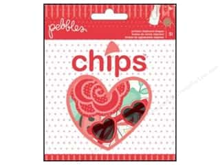 Chipboard Love & Romance: Pebbles We Go Together Collection Vellum & Chipboard Shapes