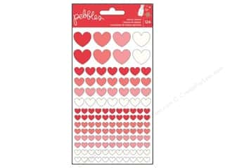 Pebbles Inc $14 - $23: Pebbles We Go Together Collection Stickers Epoxy Hearts