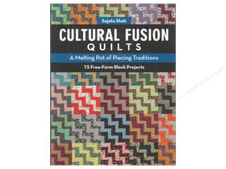 C&T Publishing Cultural Fusion Quilts Book by Sujata Shah