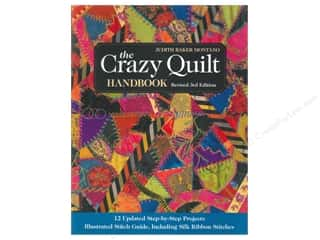 C&T Publishing The Crazy Quilt Handbook by Judith Baker Montano