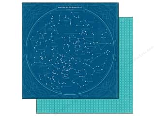 BasicGrey Designer Papers & Cardstock: BasicGrey 12 x 12 in. Paper Aurora Ursa Major (25 pieces)