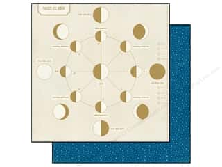 Zodiac/Celestial Papers: BasicGrey 12 x 12 in. Paper Aurora Pisces (25 pieces)