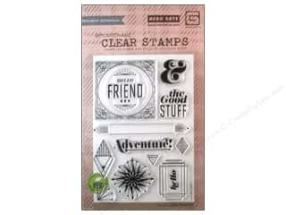 Stamped Goods Weekly Specials: BasicGrey Clear Stamps 12 pc. Aurora The Good Stuff