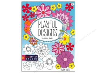 C&T Publishing Fabric Painting & Dying: FunStitch Studio By C&T Coloring Playful Designs Book