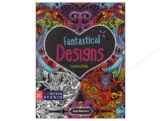 C&T Publishing Fabric Painting & Dying: FunStitch Studio By C&T Coloring Fantastical Designs Book