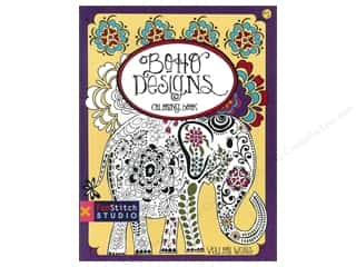 Weekly Specials Paint: FunStitch Studio By C&T Coloring Boho Designs Book