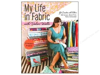 Fabric Painting & Dying Books & Patterns: Stash By C&T My Life In Fabric Book