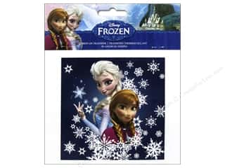 Gifts More for Less SALE: Simplicity Iron On Transfer Disney Frozen Sisters