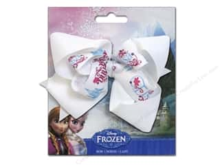 "Hair 5"": Simplicity Hair Bow Grosgrain Disney Frozen Names"