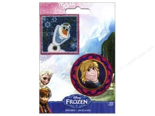 Patches Embroidered Appliques: Simplicity Appliques Disney Frozen Iron On Olaf & Kris