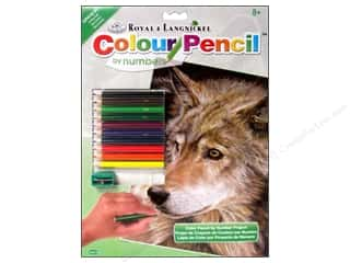 Pencils Royal Colour Pencil by Number: Royal Colour Pencil by Number Curious Eyes