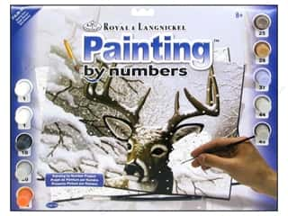 Gifts Blue: Royal Paint By Number Junior Large Dancing Snow