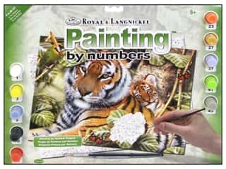 Royal Rub Ons Royal Paint Artist Acrylic: Royal Paint By Number Junior Large In The Shadows