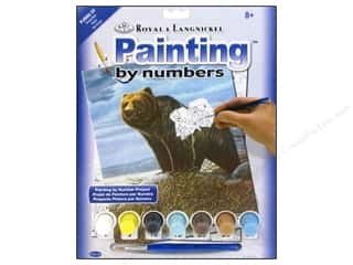 Teddy Bears Projects & Kits: Royal Paint By Number Junior Grizzly Bear