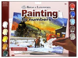 Royal Rub Ons Art, School & Office: Royal Paint By Number Adult Large Home For Christmas