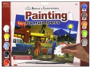 Painting Family: Royal Paint By Number Adult Large A Night At The Movies