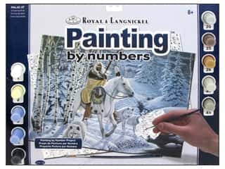 Projects & Kits Winter: Royal Paint By Number Adult Large Whispering Winds