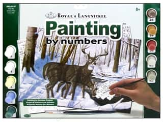Projects & Kits Winter: Royal Paint By Number Adult Large Winter Bliss