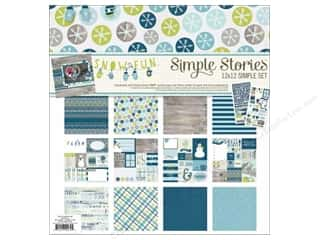 Simple Stories: Simple Stories Snow Fun Collection Collection Kit