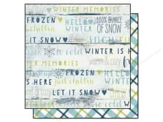 Simple Stories Snow Fun Paper 12x12 Frostbite (25 piece)
