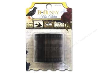 New Burgundy: Bo Bunny Adhesive Film Strip Rose Cafe