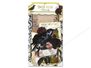 Cards Burgundy: Bo Bunny Noteworthy Journaling Cards Rose Cafe