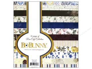New Burgundy: Bo Bunny 6 x 6 in. Paper Pad Rose Cafe