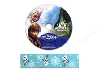 License To Quilt: Simplicity Ribbon Grosgrain Disney Frozen Olaf