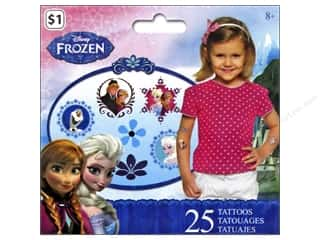 Licensed Products Kid Crafts: SandyLion Tattoo Disney Frozen 25pc