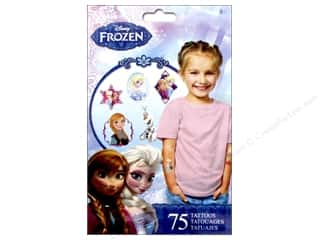 Licensed Products Kid Crafts: SandyLion Tattoo Disney Frozen 75pc