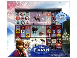 Licensed Products Kid Crafts: SandyLion Sticker By The Roll Disney Frozen