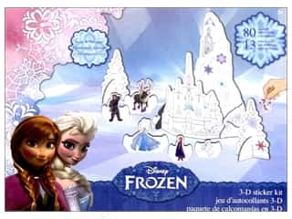 SandyLion Sticker 3D Treasure Box Disney Frozen