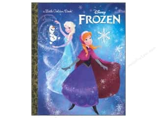 Books & Patterns Sale: Golden Disney Frozen Little Book