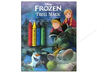 Gifts More for Less SALE: Golden Disney Frozen Troll Magic Coloring Book