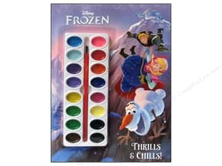 active sale: Golden Disney Frozen Thrills & Chills Paint Book